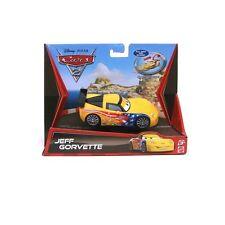 DISNEY CARS 2 v3002/v3007 JEFF GORVETTE NUOVO E OVP