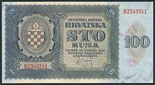 Croazia/Croatia 100 Kuna 1941 PICK 2 (1)