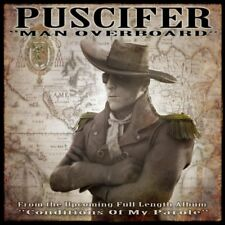 Puscifer Man Overboard CD SINGLE Tool A Perfect Circle Conditions Of My Parole