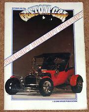 CUSTOM CAR Magazine Oct 1981 - Model T, Pop, Santa Pod, Barry Lee & Hot Rods