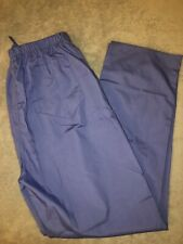 NWT Prism Medical Light Blue Size XS Nursing  Scrubs Pants Ultra-Soft Brushed