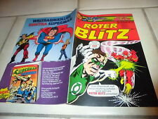 Superman präsentiert : ROTER BLITZ   Sonderheft  Nr.19   DC COMICS / Ehapa 1977