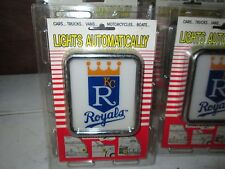 kansas city royals Medallion Light by Armbruster products New,old ,overstock Car
