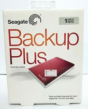 Seagate Backup Plus 1TB Portable Storage USB 3.0 External Drive Thailand ~ryokan