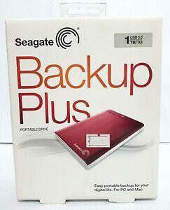 Seagate Backup Plus 1TB Portable Storage USB 3.0 External Drive Thailand ~ryokan