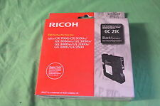 NRG RICOH GC21K NERO GC 21 S GX7000 GX5050N gx3050sf data autentica 2015