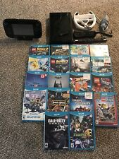 Nintendo Wii U Game Console With 18 Games