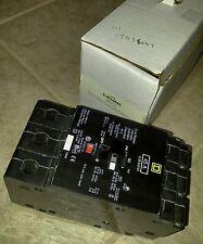NEW SQUARE D EJB34045 3 POLE 45A 480V NF TYPE CIRCUIT BREAKER