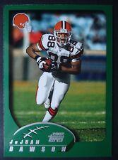 NFL 37 JaJuan Dawson Cleveland Browns Topps 2002