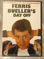 * FERRIS BUELLER'S DAY OFF (Paramount UK DVD 2004) Matthew Broderick AS NEW!