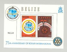 Belize #545-546 Rotary 2v S/S