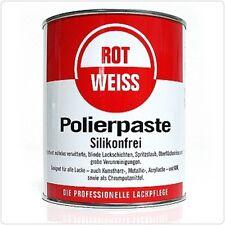 (19,15€/L) ROT-WEISS ROTWEISS POLIERPASTE POLITUR 750ML ROT WEIß 1000