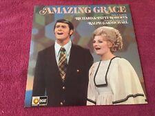 Amazing Grace Solos & Duets by Richard & Patti Roberts Light LP Ralph Carmichael