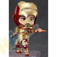 The Avengers Tony Stark Q Ver. Figure MK42 Iron Man Toy