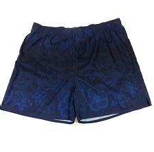 BLUE HARBOR BAY men's SWIM TRUNKS/SHORTS  SIZE 3 X blue with pockets and mesh