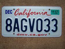 2017 California Lipstick license plate