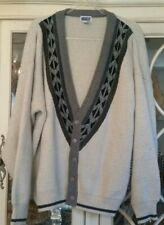 Vtg Union Bay Aztec Tribal Cardigan Sweater Wool Blend Men's - Size XL