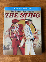 The Sting (Blu ray/Digital HD) (NEW) Limited Edition Steelbook