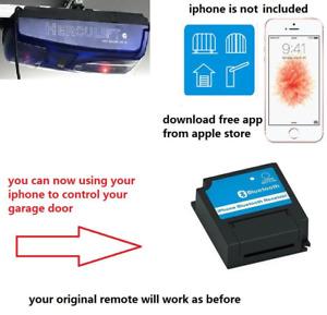 herculift Garage Door door remote control iphone bluetooth receiver upgrade kit