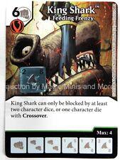 Green Arrow Flash KING SHARK Feeding Frenzy #65 DC Dice Masters card