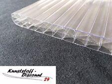 ANGEBOT! Stegplatten 16 mm farblos klar MAKROLON® 5X/16-25 multi UV Polycarbonat