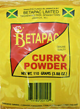 Curry Powder, Betapac, Jamaican Curry,  110g  (03.88 oz) US - 3 days shipping
