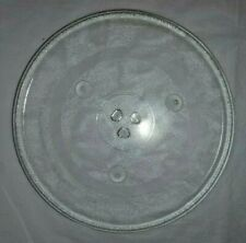 """Microwave Oven Glass Turntable Plate Tray Replacement 12 1/2"""" Diameter L15"""