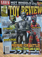 Lee's TOY REVIEW Magazine #178 AUG 2007, Star Wars, GI Joe Guide to collecting