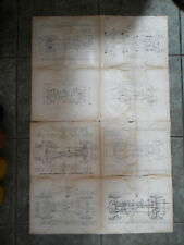 MG MIDGET TA TB TC TD J P K1 K4 KB D KN LUBRICATION CHASSIS WALL CHART PUB CAFE