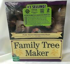 New Broderbund Family Tree Maker Cd-Rom Version 4 Windows 95 and 3.1 Genealogy