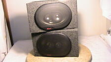 New listing Audiovox Rampage 3 way speakers, pair, mint