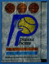 Indiana Pacers Logo NBA. Chewing / Bubble Gum Stickers.