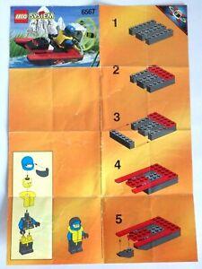 Instrucciones lego System Ajuste Completa Manuales de N º 6567