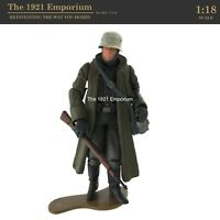 ✙ 1:18 21st Century Toys Ultimate Soldier WWII German Army Winter Soldier Figure