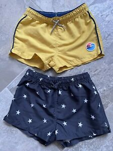 2x Zara Boys Swim Shorts Age 3-4 Years