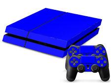 SONY PS4 PlayStation 4 SKIN Design Adesivo Pellicola Protettiva Set - Blue Motif
