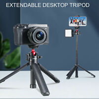 Universal Ulanzi MT-16 Mini Vlog Tripod Retractable Selfie Stick Phone Holder