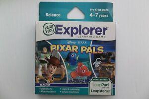 LeapFrog Explorer Disney Pixar Pals Science Game 4-7 years