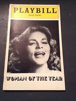 Vintage 1981 Women Of The Year Playbill Palace Theatre Starring Lauren Bacall