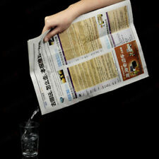 Magic Tricks Water In Newspaper Illusions Magic Tricks Products Paper Magic toys