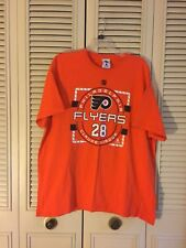 Mens NHL Philadelphia Flyers Claude Giroux Shirt Orange Size XL