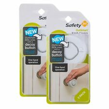 Safety 1st OutSmart Knob Covers, 8 Pack, White (Damaged Outer Box)