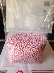 Strawberry Millions 500g In A Clear Bag Sweets Vegetarian Approved