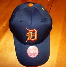 DETROIT TIGERS MLB Youth Adjustable OC Sports Baseball Team Motor City Cap NEW