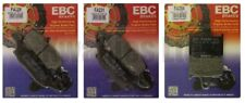 Suzuki Gsf650 Bandit sin ABS 2005-2006 Set EBC Pastillas de Freno Delanteras y