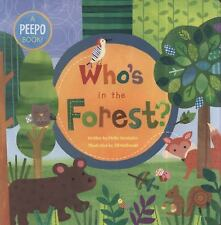 NEW: Barefoot Books SALE 1/2 Price ~ Board Book ~ WHO'S IN THE FOREST age 1-4