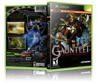 Gauntlet: Seven Sorrows - Replacement Xbox Cover and Case. NO GAME!!