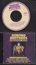 OSMOND BROTHERS Greatest Hits 1992 USA CD ALBUM CURB RECORDS