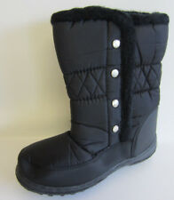 Snow Fun 8.561817 Ladies Black Warm lined Ankle Snow Boots (R3B)
