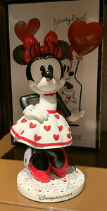 FIGURINE MINNIE PARIS MON AMOUR Disneyland Paris Disney Neuf Avec Boîte